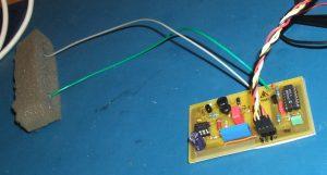 Geigerzähler-Modul mit externem Zählrohr